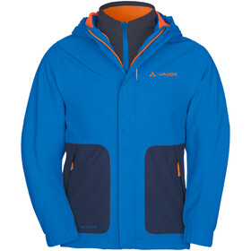 VAUDE Campfire IV 3in1 Jacket Kinder radiate blue